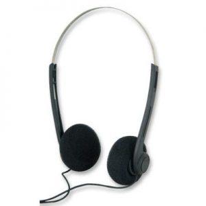 classic 80's retro style headphones