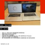 EFI and BIOS Password Reset