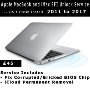 EFI Password Removal