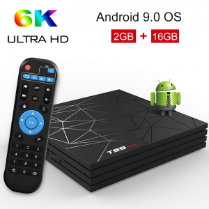 T95 MAX Android 9 Smart TV Box