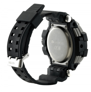 Canyon Military Style Smart Watch Bck