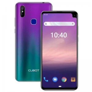 Cubot Max 2 Android 9 Front View