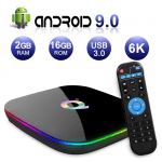 Q Plus Android 9 TV Box