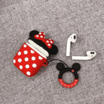 Apple Airpods Silicone Case Minnie Mouse