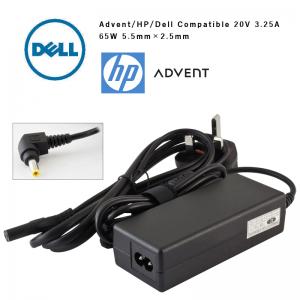 Dell HP Advent Compatible 20v 3.25a 65w