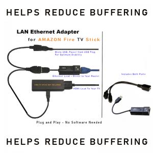 Amazon Fire TV Stick Ethernet Adapter