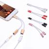 Dual USB Type-C to 3.5 mm Jack