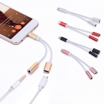Dual USB Type-C to 3.5 mm Jack