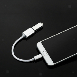 USB-C 3.1 Male toUSB Type-A Female Connected