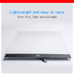 A5 Dimmable LED Drawing Pad